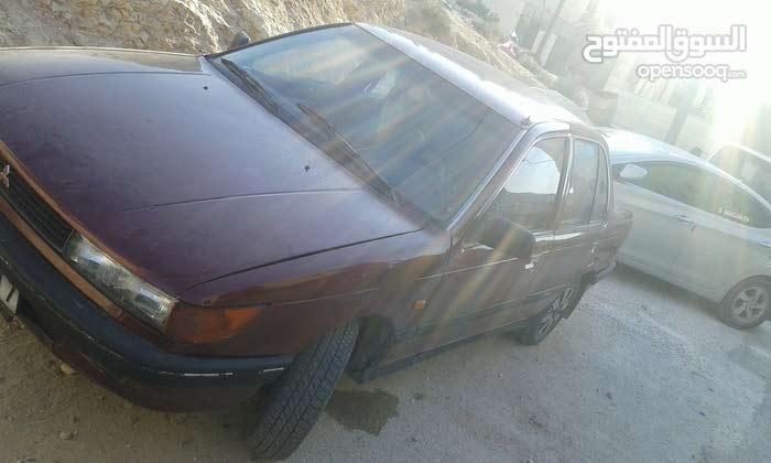 Mitsubishi Lancer 1989 For sale - Maroon color