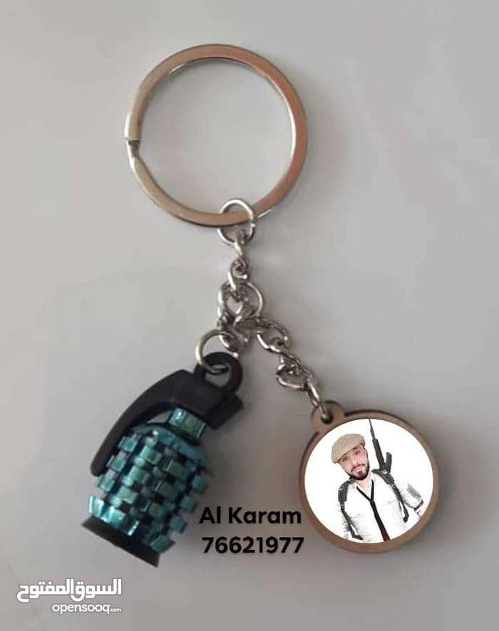 customised gernade keychain