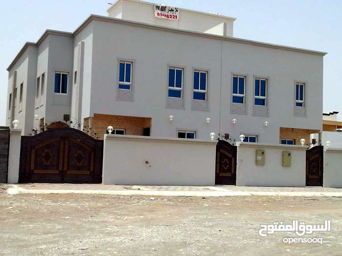 Khoud neighborhood Seeb city - 335 sqm house for rent