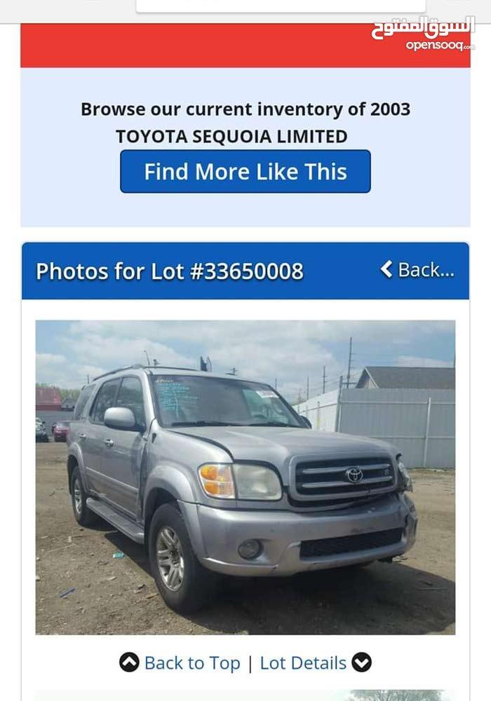 Gasoline Fuel/Power   Toyota Sequoia 2003