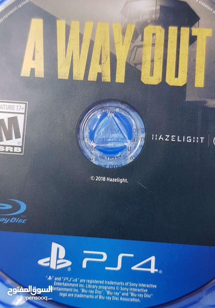 a way out ps4 perfect condition