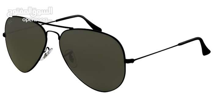 مطلوب أطار نظارة راي بان قديمة قياس 62 لون أسود صناعة امريكية أو أيطالية مع عدسات او بدون