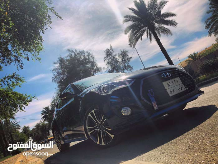 Hyundai Veloster car for sale 2016 in Baghdad city