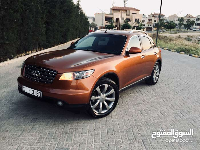 1 - 9,999 km Infiniti EX35 2004 for sale