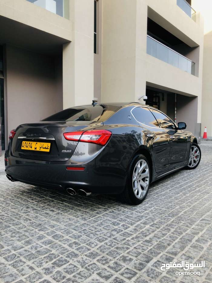 Maserati Ghibli car for sale 2014 in Muscat city - (107022170