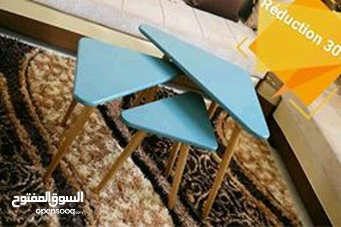 3 table pou décoration