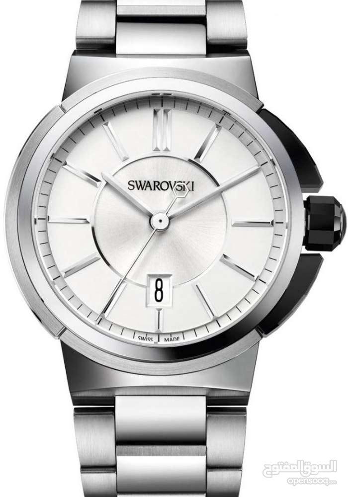 سواروفسكي ساعة رسمية ، انالوج بعقارب ، للرجال ، ، ستانلس ستيل ، 1094351