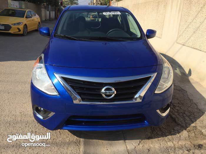 Nissan Versa car for sale 2016 in Baghdad city