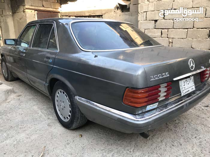Gasoline Fuel/Power   Mercedes Benz 300 SE 1987