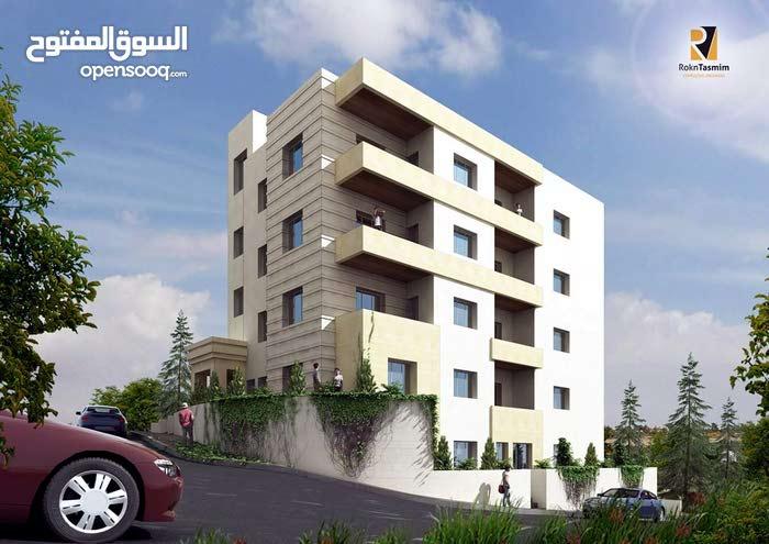 شقة طابقية  274 متر للبيع الجبيهه