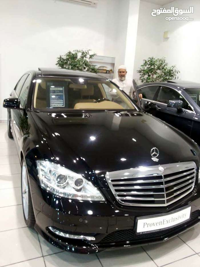 Black Mercedes Benz S350 2013 for sale