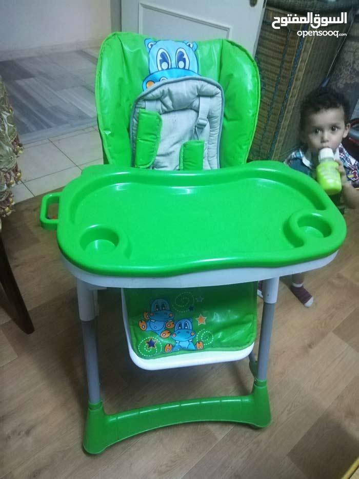 كرسي طعام للاطفال من سنه الى3سنين سعر45دينار