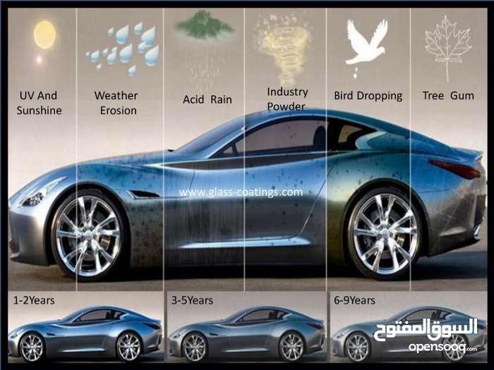 نانو تيتانيوم سيراميك للسيارات