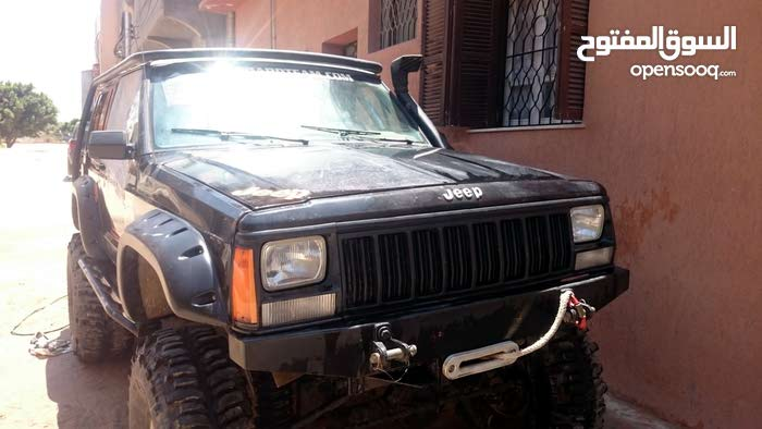 Manual Black Jeep 1992 for sale
