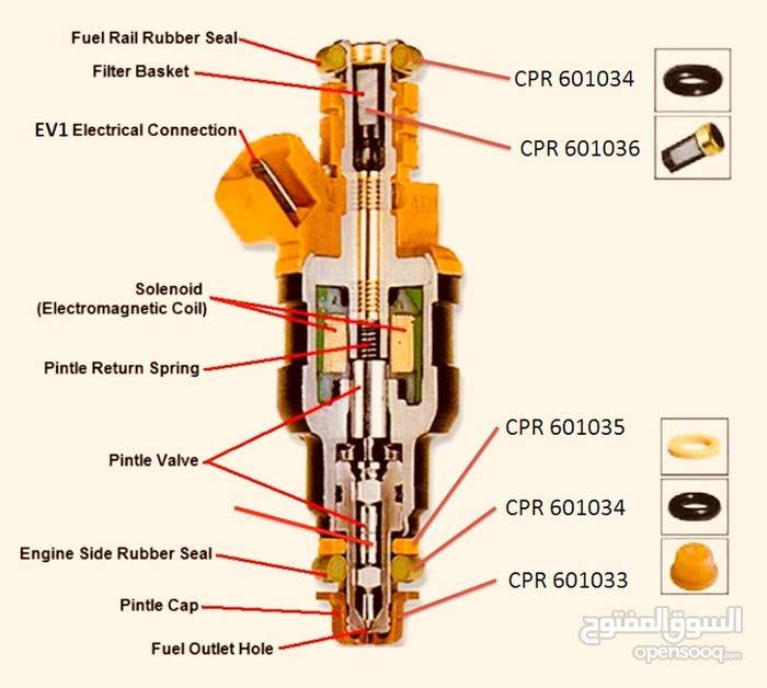 قطع غيار بخاخات البنزين Injector