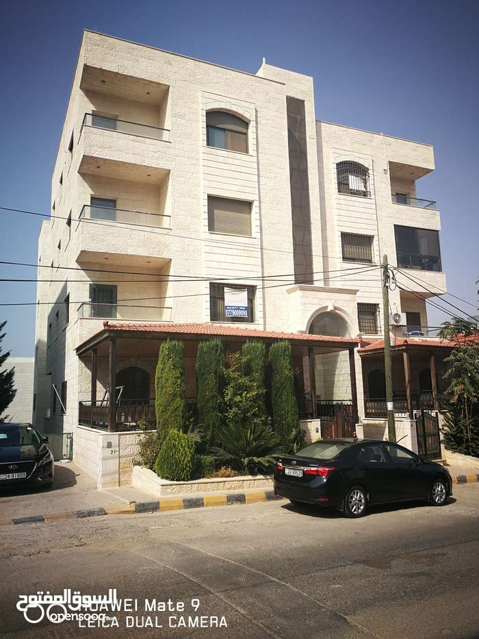 First Floor  apartment for sale with 5 rooms - Amman city Airport Road - Nakheel Village