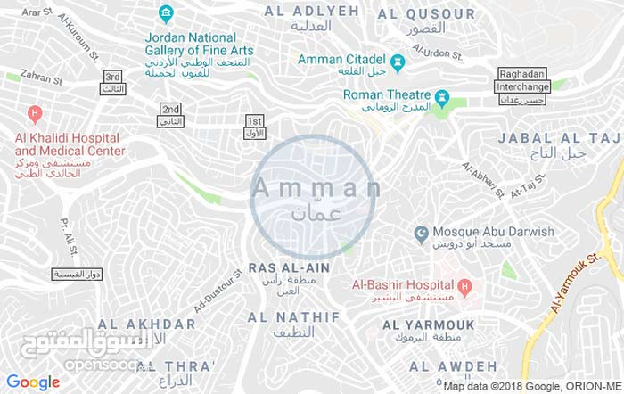 an apartment for sale in Amman Al Sina'a