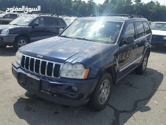 Blue Jeep Grand Cherokee 2006 for sale