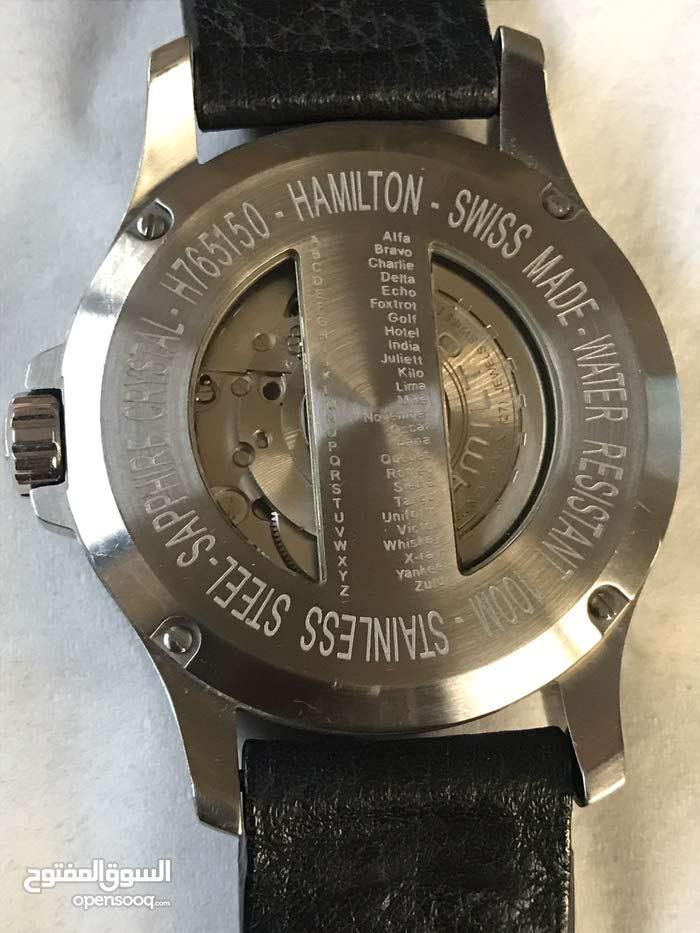 992529de3f9b7 ساعة هاملتون اوتوماتك - (104469714)