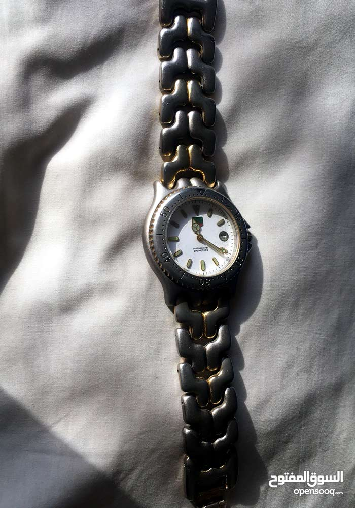 Antique Tag Heur watch from the 80s