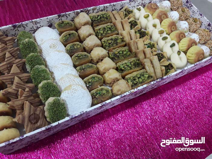 شيف حلويات سوري