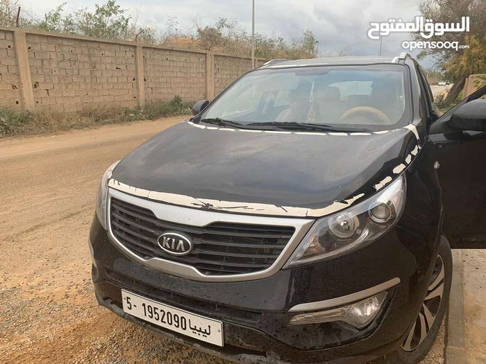 Black Kia Sportage 2014 for sale