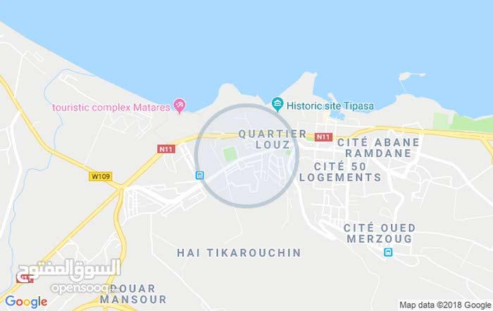 تيبازة بلدية قوراية.  حي سيدي براهيم