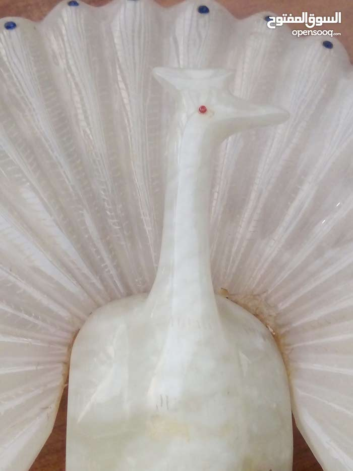 طاووس من مرمر