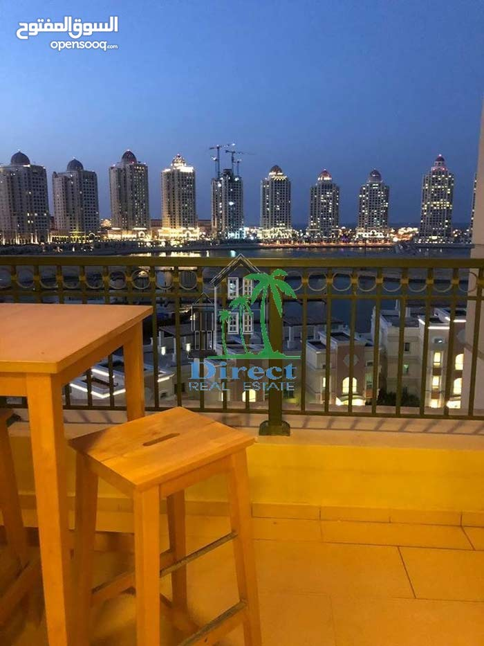 1 bed furnished flat in Viva Bahriya ,The Pearl QR8,500