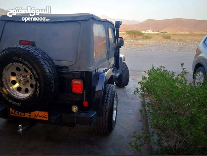 Jeep Wrangler 2005 For Sale Blue Color 94877791 Opensooq