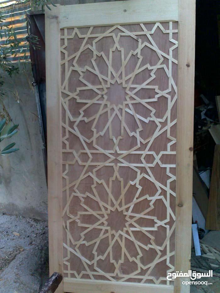 تفصيل مطابخ خشب وتفصيل ابواب غرف نوم خزائن مع امكانيه تقسيط