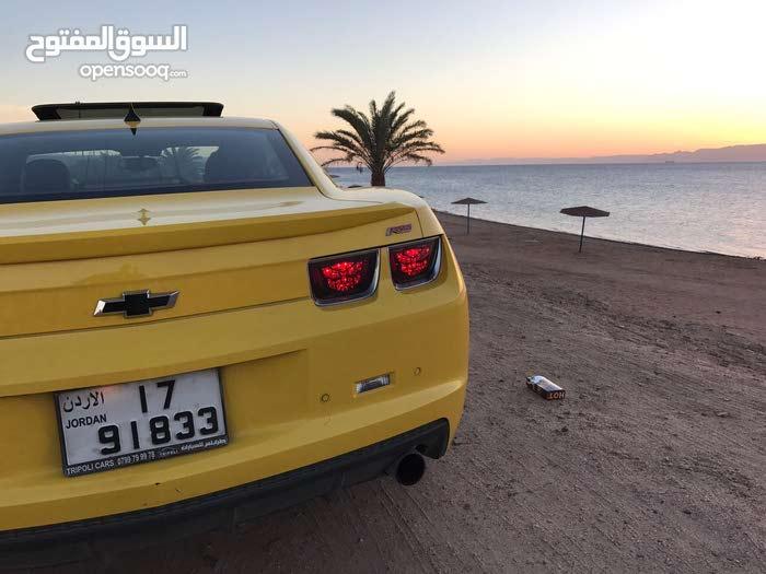 Yellow Chevrolet Camaro 2010 for sale