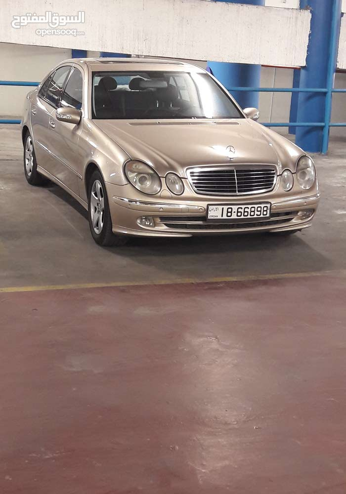 Automatic Gold Mercedes Benz 2004 for sale
