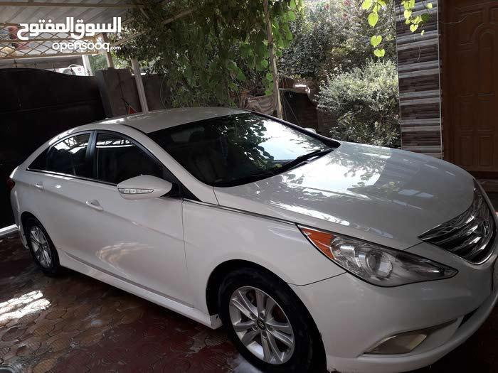 Hyundai Sonata 2014 For sale - White color