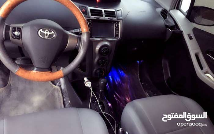 Toyota Yaris 2010 For sale - White color