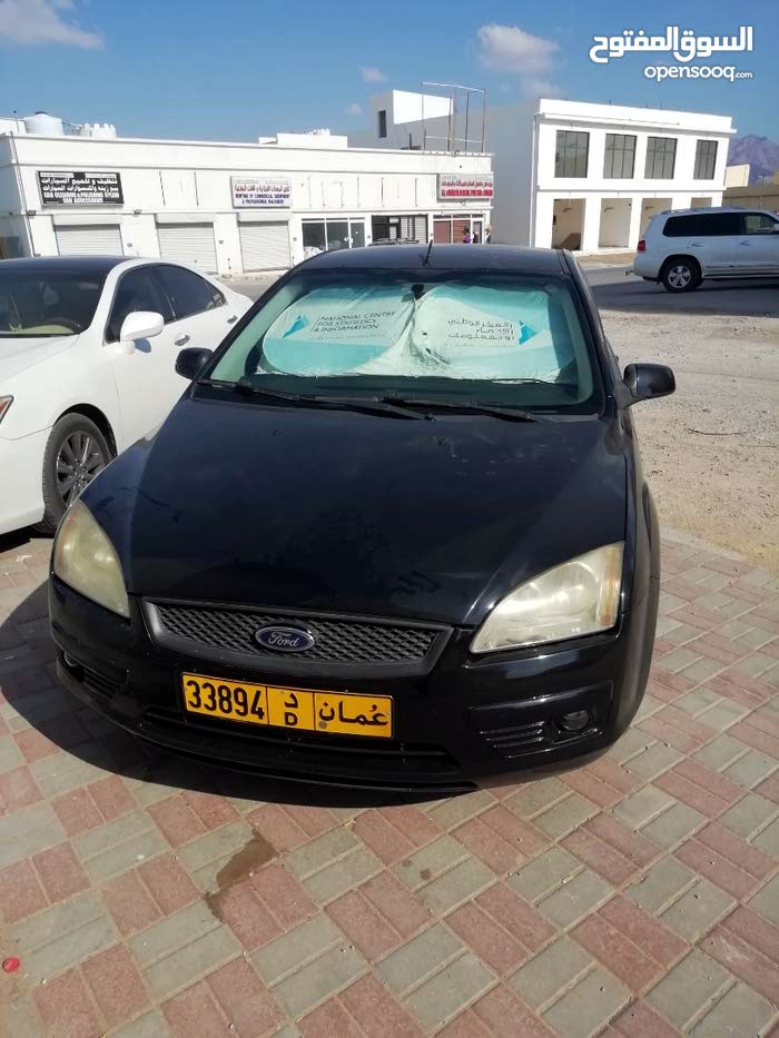 Black Ford Focus 2007 for sale