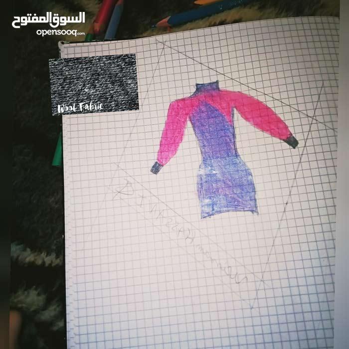 تصميمات للملابس (الفساتين)