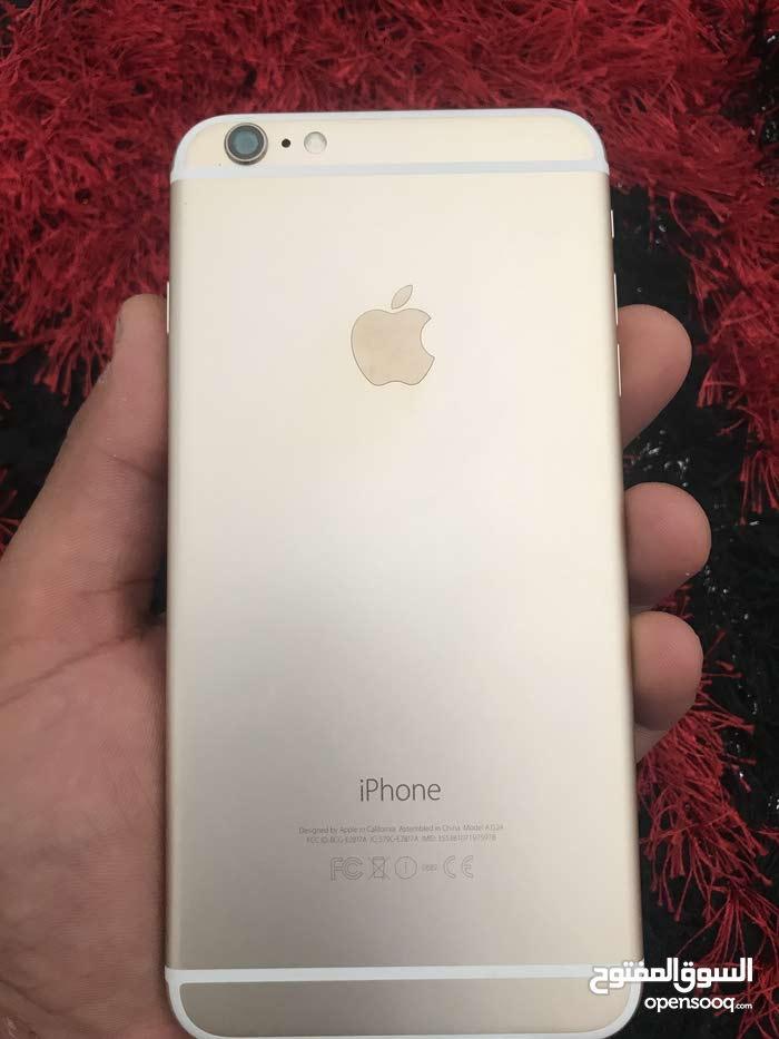 ايفون 6 بلص 16 g  اللون ذهبي