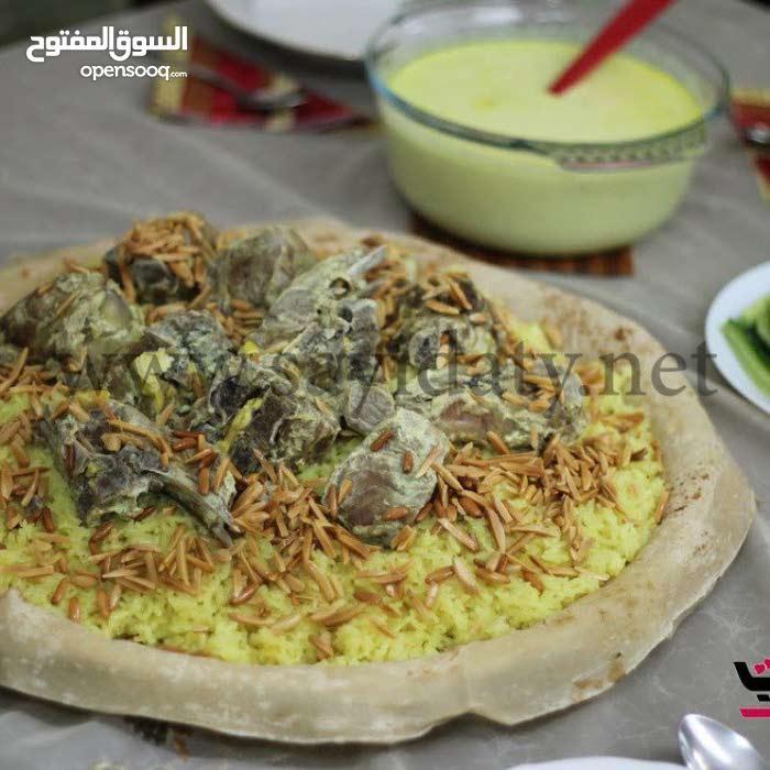 شيف مأكولات أردنية وفلسطينية وأكلات شعبية