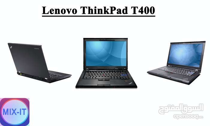 لابتوبLenovo ThinkPad T400 مستعمل فقط 380 شيكل