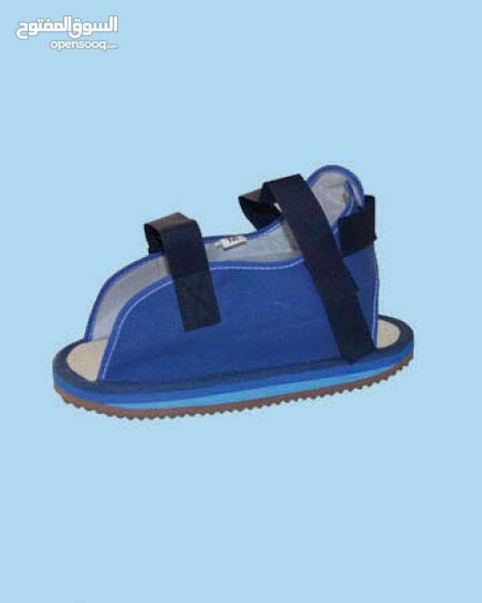 حذاء جبيرة جبصين (فوق جبيرة القدم)