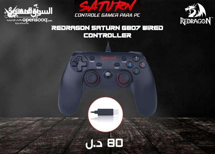 يد تحكم كمبيوتر Redragon G807 Saturn Gamepad
