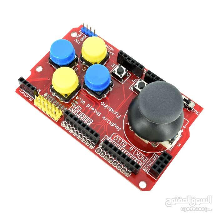 Joystick Shield for Arduino - درع لوحة تحكم للأوردينو - (109659041