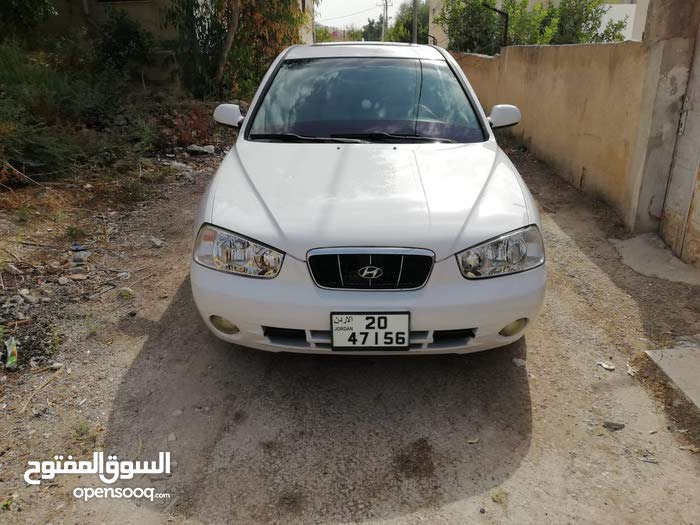 Manual White Hyundai 2000 for sale