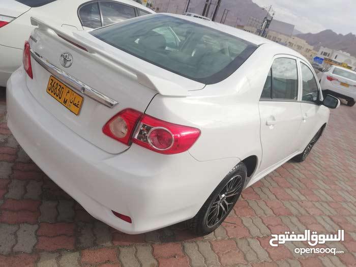 For sale 2012 White Corolla