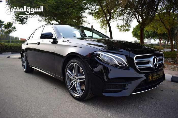 For rent a Mercedes Benz E 200 2018