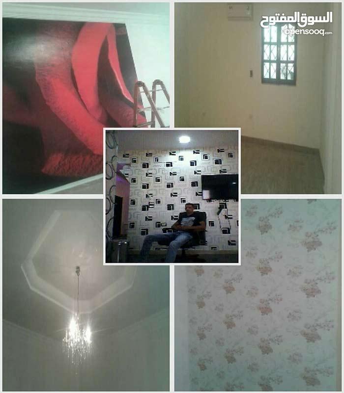 فني طلاء منازل ( زواق ستوك ورق حائط )للطلب 0914125767