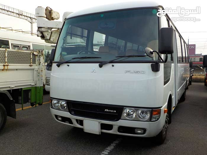 2012 mint condition 34 seated rosa bus for rent on monthly / yearly basis