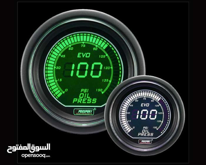 Prosport Evo Series Oil Pressure Gauge  ساعة ضغط زيت اصلية