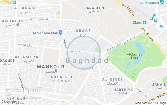بغداد الغزالية شارع المراكز